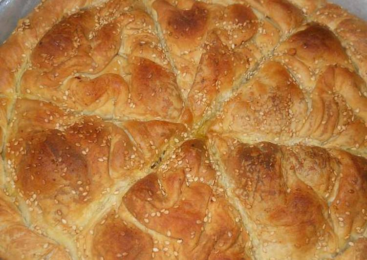 Spinach Pie with Homemade Filo Dough