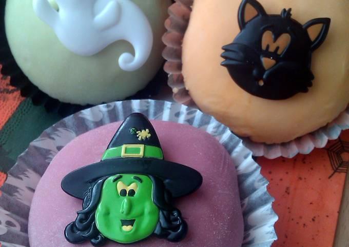 Vickys Cinnamon Spiced Cupcakes, GF DF EF SF NF