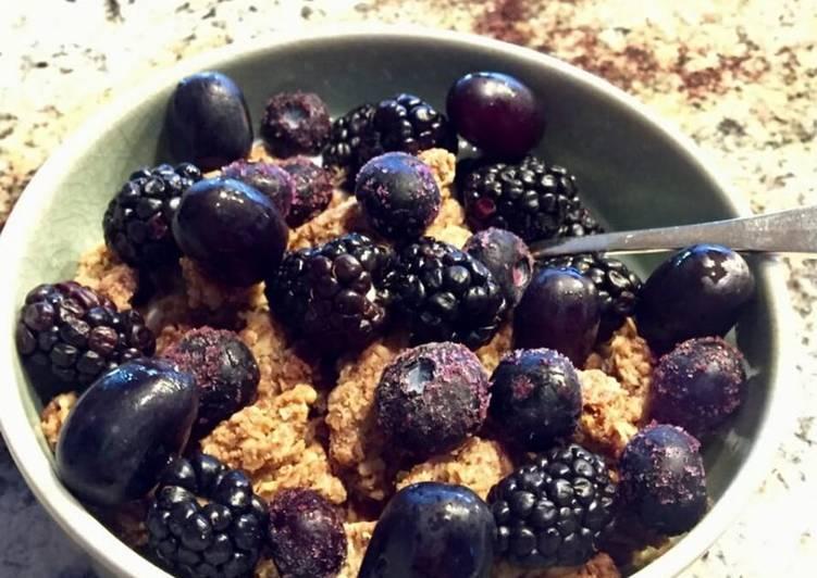 Purple Breakfast Bowl