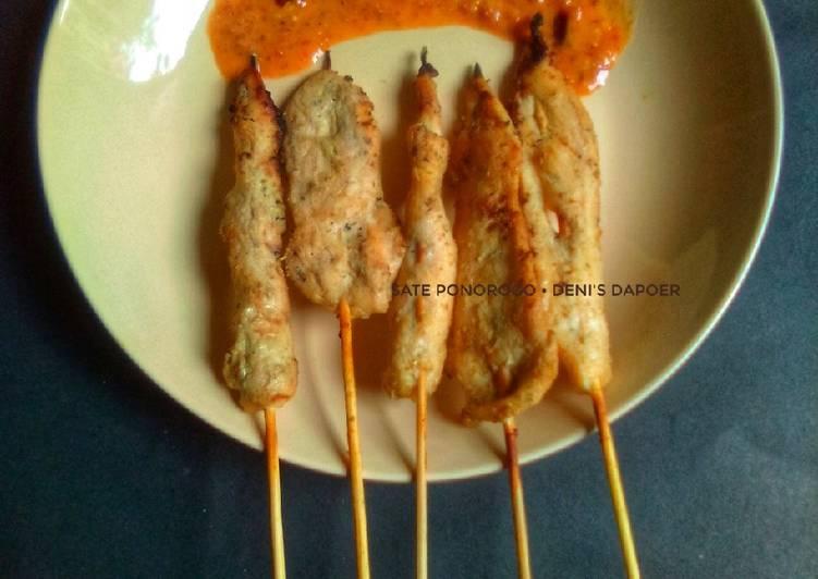 Sate Ayam Ponorogo #rabubaru