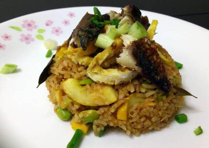 Mackeral Fried Rice