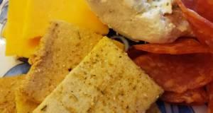 Almond Flour Butter Crackers