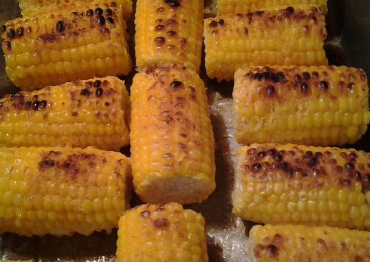 Mothers Day Corn from the broiler