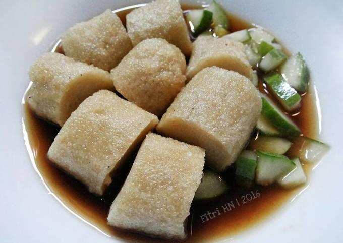 Resep Pempek Tanpa Ikan Oleh Fitri Hn Cookpad