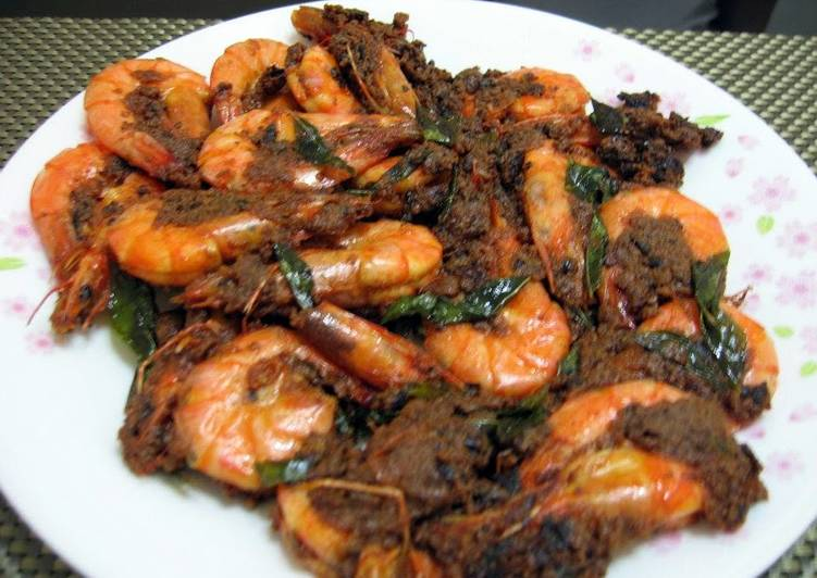 Buttered Prawn Asian Style