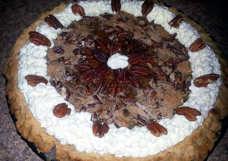 Sweet Potato Pie with Pecan Crumble