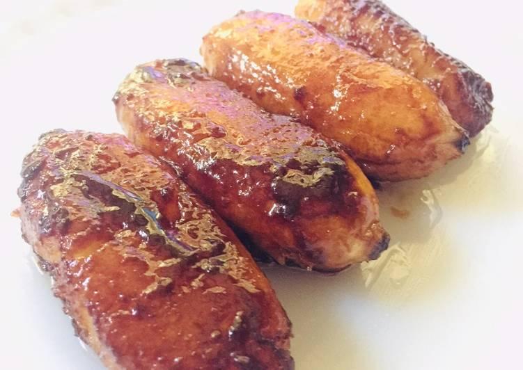Coco Sugar Fried Saba : Banana Caramel : Banana Cue (dessert / snack)