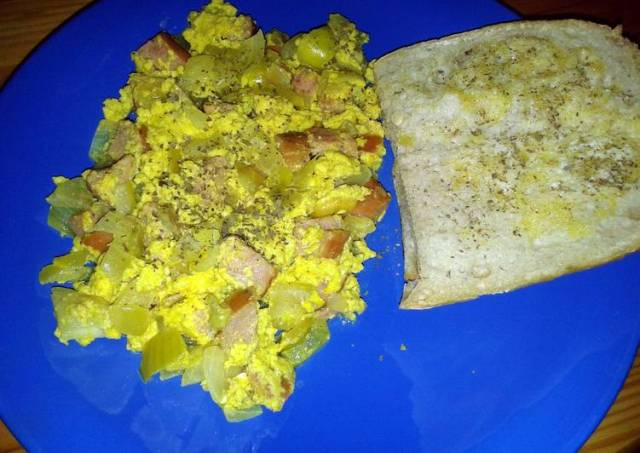 Curried Scrambled Eggs