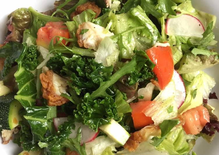 Salad sayur atau gado-gado bule hehe