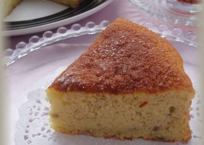 Healthy Rice Flour Banana Cake