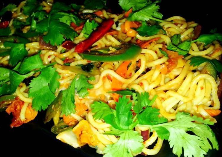 Mike's Mongolian Stir-Fry