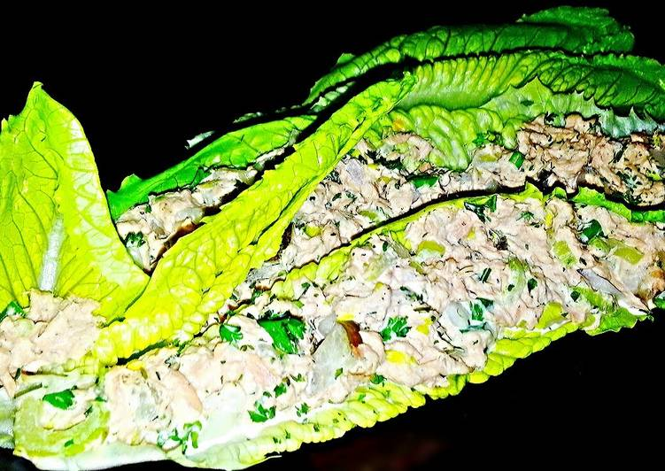 Mike's Low Carb Tuna Lettuce Wraps