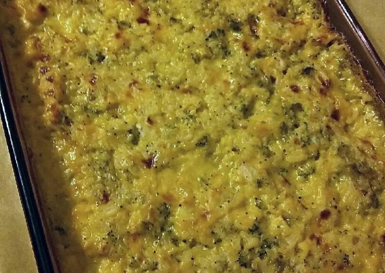 Turkey Broccoli Rice Casserole