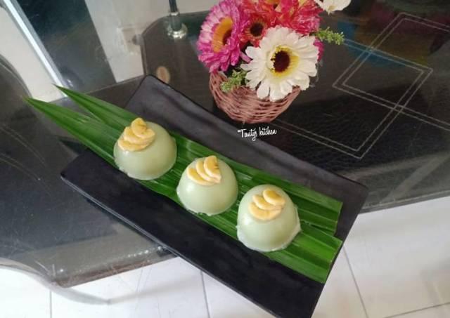Kue Talam Tepung Beras Pandan