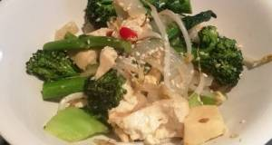 Lemongrass Tofu Stir-fry (Vegan/Vegetarian/Low Carb)