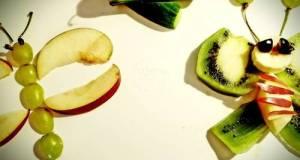 Fruit Salad Art By Daughter