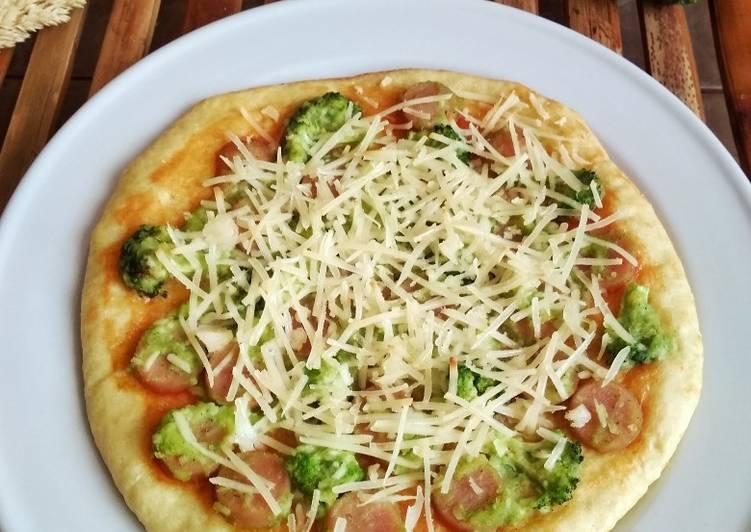 Pizza Bonggol Brokoli