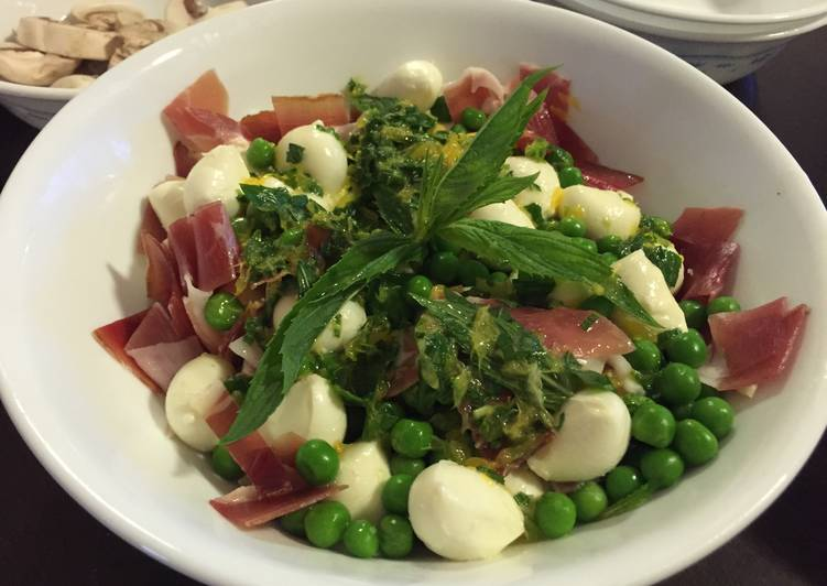 Please, Peas & Cheese Salad