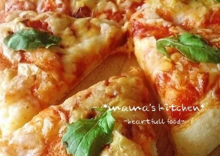 Simple Crisp  Soft No-Rise 20-Minute Pizza