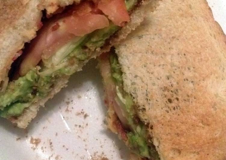 Cierra's all vegetarian  BLT
