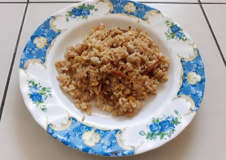 Nasi Goreng Telur3in1 (Telur, Nasi, Teri)