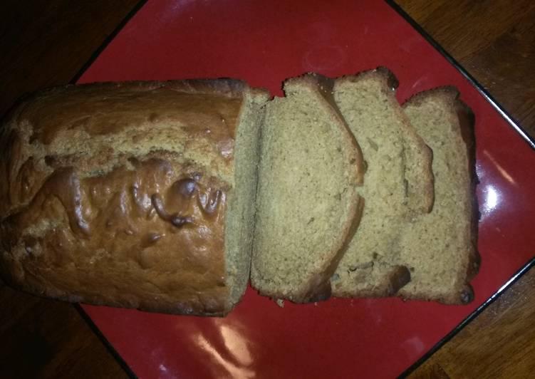 Easy Peanut Butter Bread