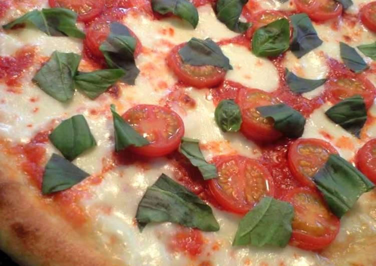 One Bowl Basic Pizza Crust