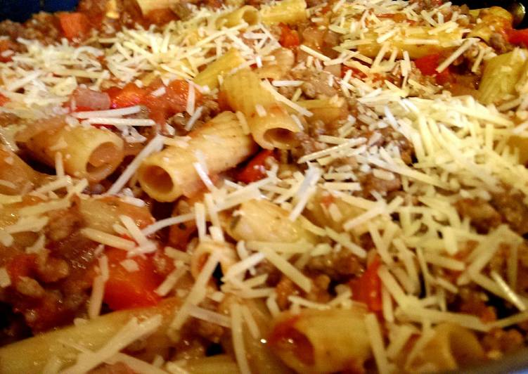 One Pot Pasta: Chicken Rigatoni