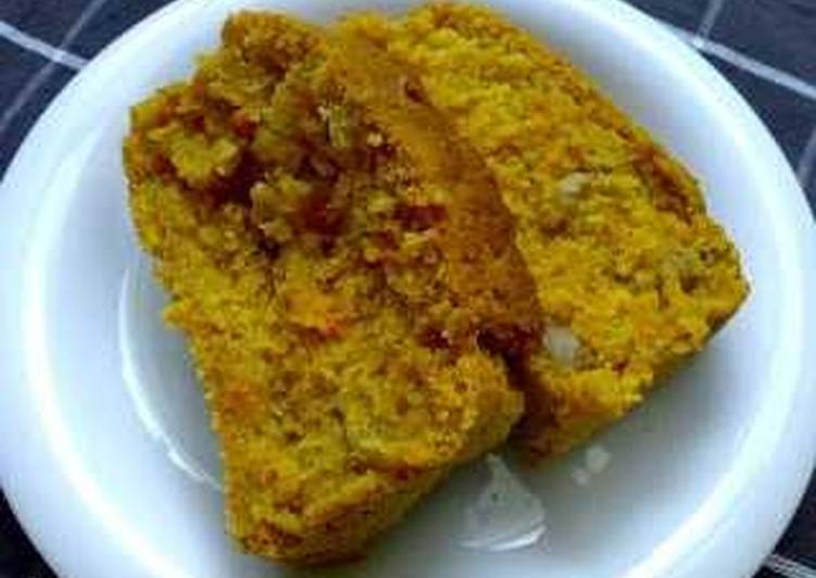 [Macrobiotic] Carrot Pound Cake
