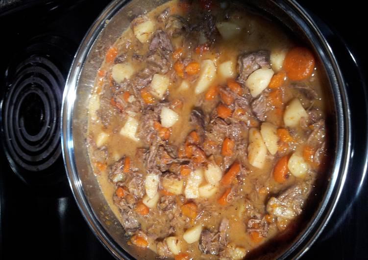 Pot Roast Stew (less than a hour)