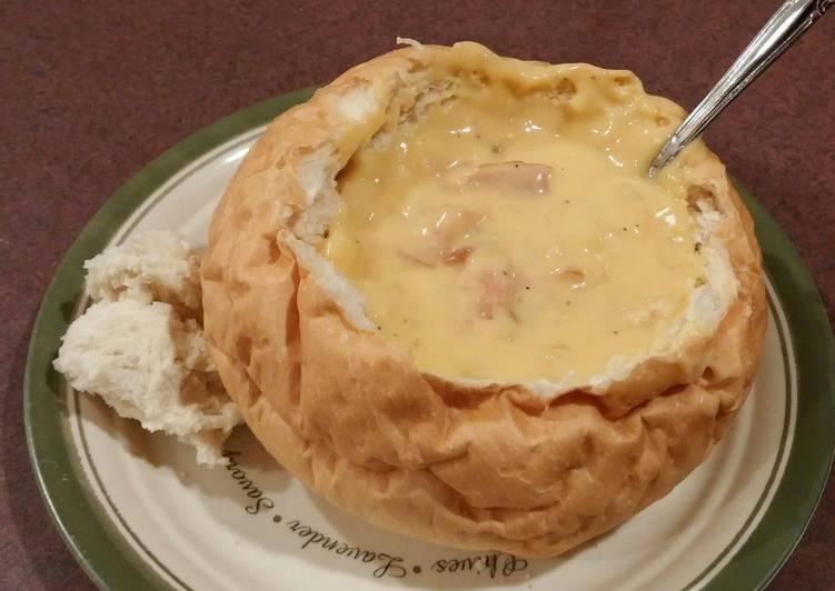Potato bacon cheddar Soup
