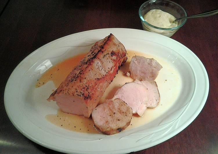 Teriyaki Pork Tenderloin, cooked Sous – Vide