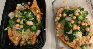 Sweet Potato Veggie Bowl