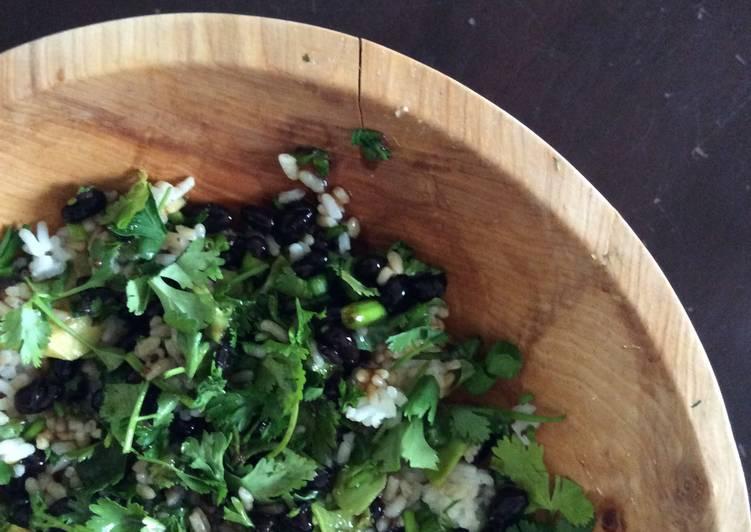 Vegan Asian Rice Salad