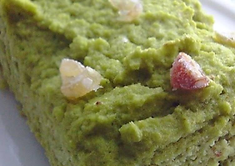 Flourless Okara Matcha Cake for Dieters