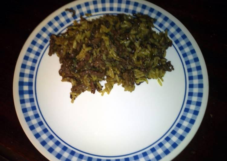Caribbean Jerk Beef & Rice