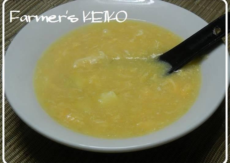 [Farmhouse Recipe] Chinese-style Corn Soup