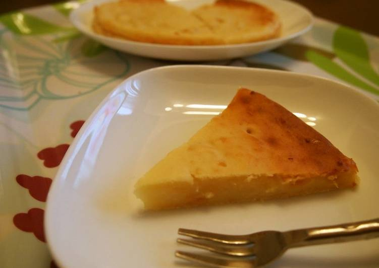 No-bake Tofu Cheesecake - 1/4 the Calories of Regular Cheesecake!