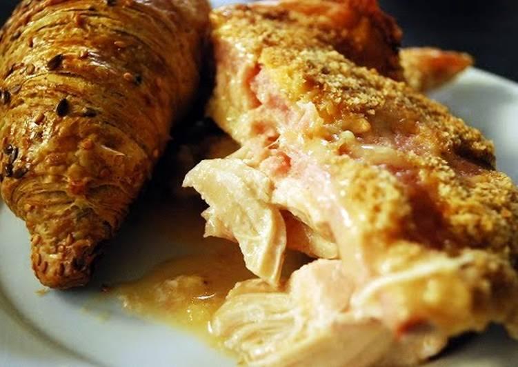 Crock Pot Chicken Cordon Bleu