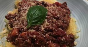 Turkey Bolognese sauce