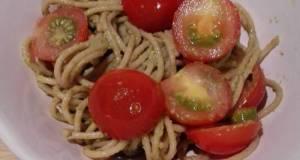 Easy Whole Grain Pasta Pesto