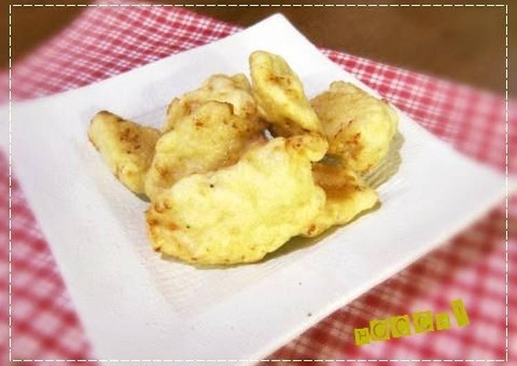 White Mini Chicken Tempura Chinese Style