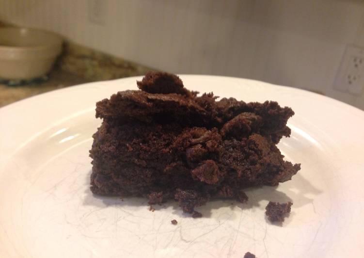Classic Homemade Cocoa Brownies