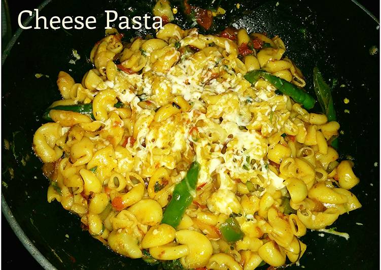 Cheese pasta - South Indian Style