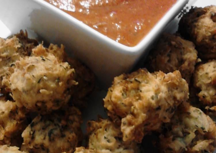 Louki Kofta ( Indian zucchini balls ) with vegetarian instructions