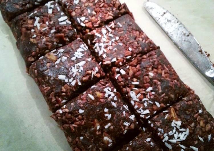 Raw-mazing Brownies