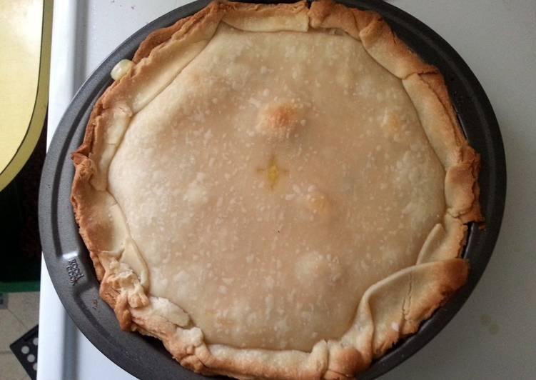 easy chicken and dumpling pot pie