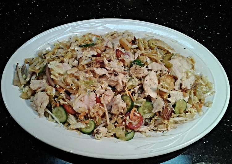 Asian. Chicken Salad