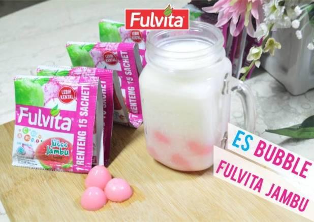 Es Bubble Fulvita Jambu