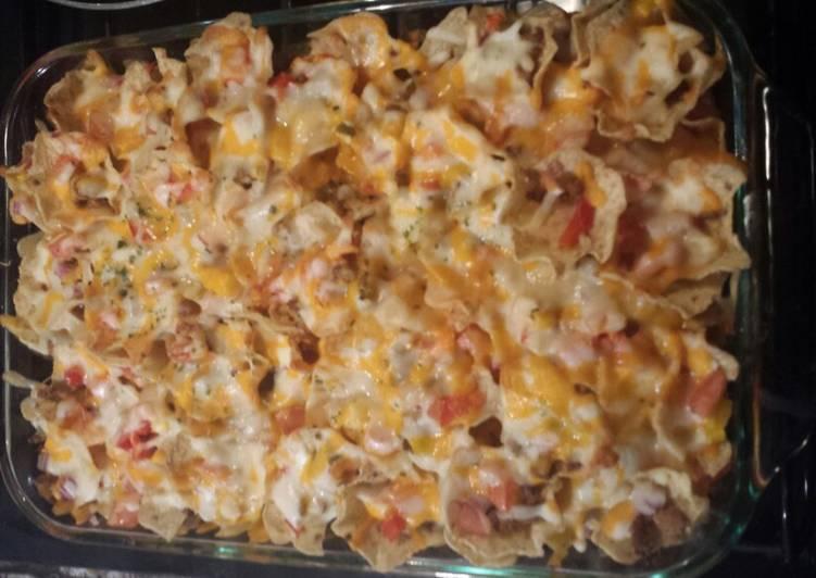 Turkey nachos